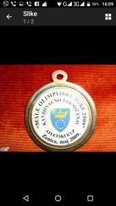 Medalja male olimpijske igre