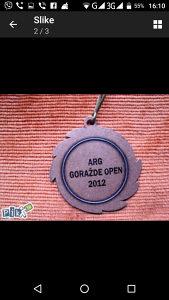 Medalja ARG Gorazde open