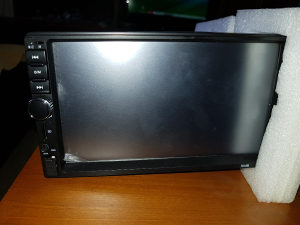 2 din touch screen mp5 player usb aux