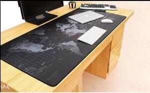 Podloga za mis karta mapa svijeta 90x40 cm