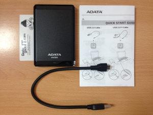 Eksterni HDD Adata HV100 1Tb - 1024Gb RGH IGRE