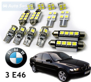 BMW E46 CANBUS LED interijer set sijalica