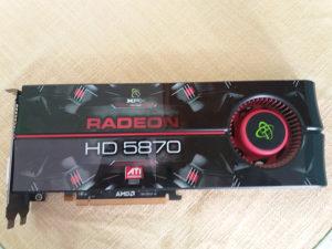 Ati Radeon xfx 5870 1GB