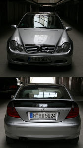 Mercedes Coupe Kompresor