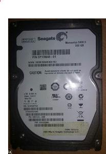 HD 2.5 inča za Laptop,SATA 3GB/sec,500 GB.