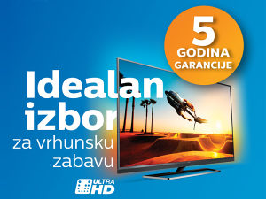AKCIJA >>> Philips 4K UltraHD TV već od 789 KM UHD