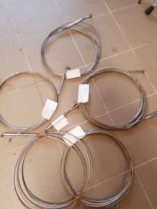 Inox sajle od 4,6 m pa do 8,5m ,fi od 4 i 5 mm
