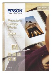Papir Epson Premium Glossy 10x15, 2x40l, 255 g/m2