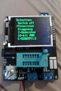 Tranzistor tester i signal generator GM 328