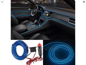 5M auto interior dekorativna   plava svjetla