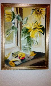 """Umjetnička slika """"Suncokreti"""""""