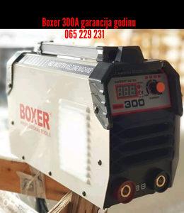 Aparat za varenje BOXER 300A garancija godinu