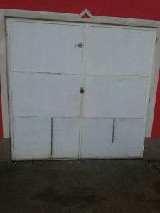 Garazna vrata 2,43x2,34m aluminijska zeljezna Alu ploce