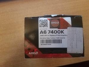 AMD A6 7400K 3.5Ghz Black Edition sa Matičnom
