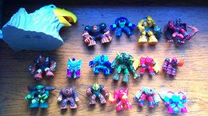 Gormiti - 94 figurice i orlova glava gratis