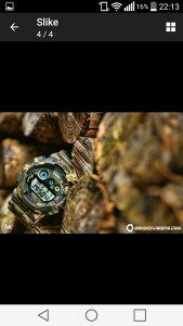 Sat Casio G-SHOCK Camouflage
