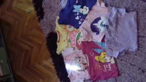 Majice za djevojcice kratkih rukava
