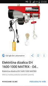 Elektricna dizalica