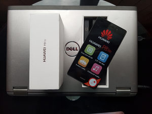 Huawei P8 Lite Black -Novo- dual