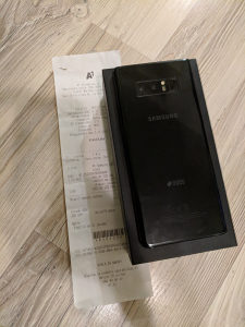 Note 8 duos black