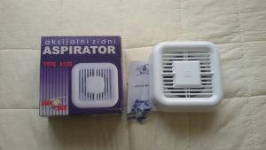 Wc ventilator FI 120 mm