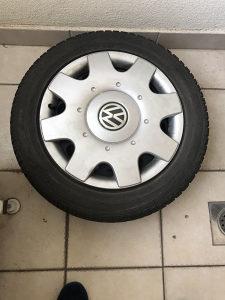 4 zimske gume plus čelične felge VW