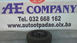 Rezervna felga guma Peugeot 107 09g R14 AE 116