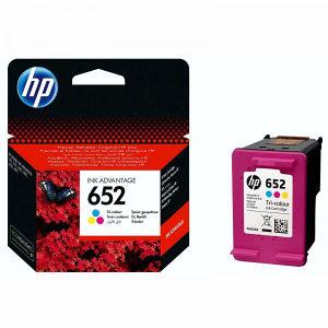 HP ketridž B št. 652 kolor (F6V24AE)