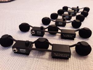 Mini letva (mikrofon) za harmoniku sa dvije i tri glave