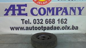 Rezervna felga guma Ford Fiesta 04g R13 AE 119