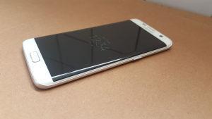 Samsung S7 edge white bijeli