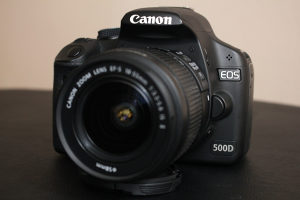 canon eos 500d 18-55mm IS II