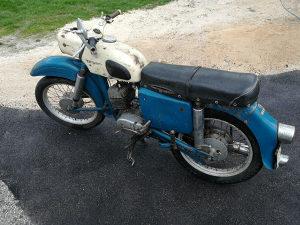 Motor MZ 150/1 oltajmer