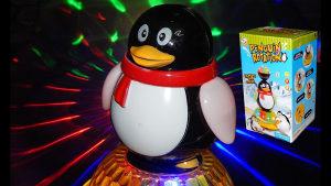 AKCIJA! Lampa rotirajuci pingvin,razne igračke