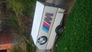 Alminijska auto prikolica-furgon