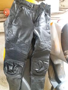 Kožne moto hlače