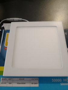 LED Panel ugradbeni kocka - 18W