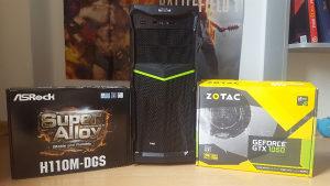 PC 8GB DDR4, i3 6100, GTX 1050