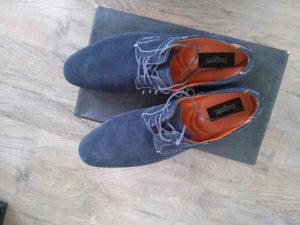 Muske kozne cipele, nove