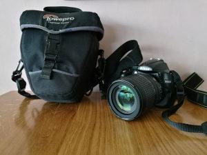 Nikon D5000 18-105mm A-FS VR