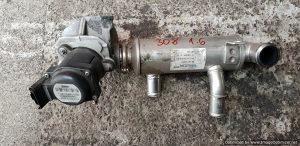 EGR ventil Peugeot 308 1.6 HDI 80KW 2009 9672880080