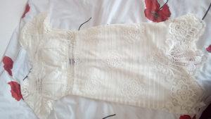 Zenska haljina bijela