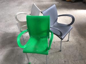 PVC stolice