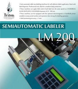 Poluautomatska Etiketirka LM200