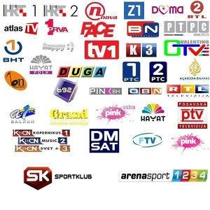 1500+ TV kanala, i preko 1400 filmova i serija
