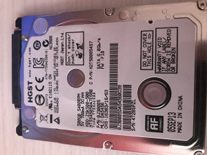 500 GB HDD WD HGST 5400 rpm za laptop