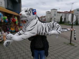 Veliki plisani tigar/macka l NOVO