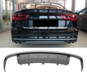 Audi A6 4G C7 Facelift S6 look spojler difuzor branika