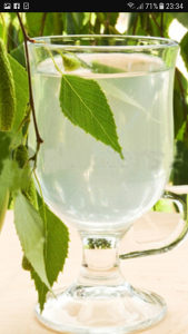 Brezova voda - sok