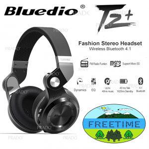 Slušalice (4.1 bluetooth) Bluedio T2+ Turbine Huricane
